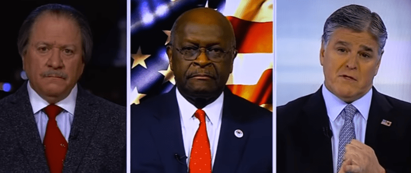 Joe diGenova, Herman Cain, Sean Hannity - Fox News