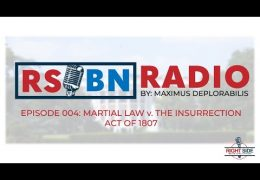 Martial Law v The Insurrection Act of 1808